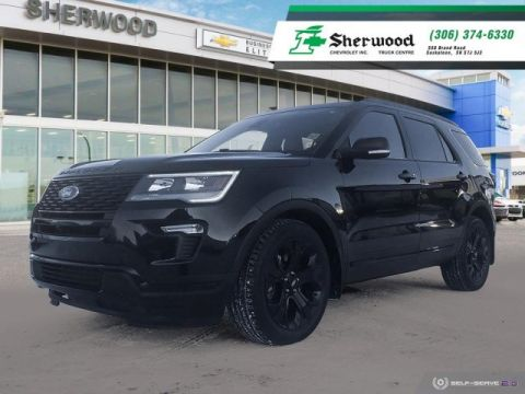 2019 Ford Explorer Sport One Owner Local Trade!!