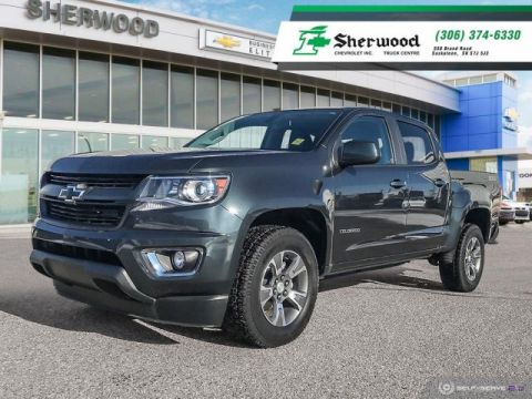 2018 Chevrolet Colorado 4WD Z71 One Owner Local Lease!!