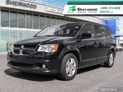 2018 Dodge Grand Caravan Crew Plus Leather/NAV