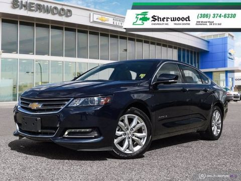 2019 Chevrolet Impala LT V6 Leather/Sunroof Only 8,000KMS!!