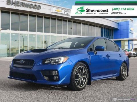 Certified Pre-Owned 2015 Subaru WRX Sport Pkg Local Trade!