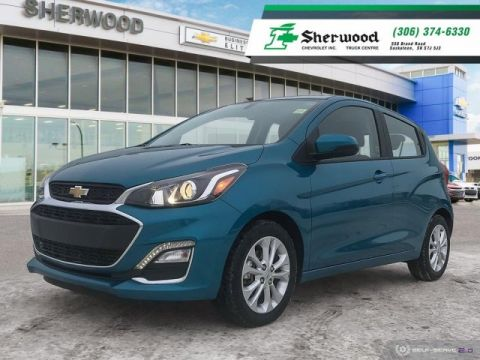 Certified Pre-Owned 2019 Chevrolet Spark LT Only 14,000kms!!
