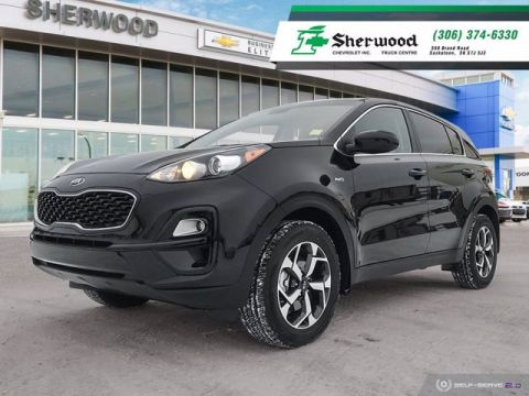 Certified Pre-Owned 2020 Kia Sportage LX AWD Only 15,000KMS!!